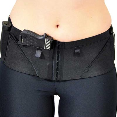 Can Can Concealment® Hip Hugger Classic (Black, Large)